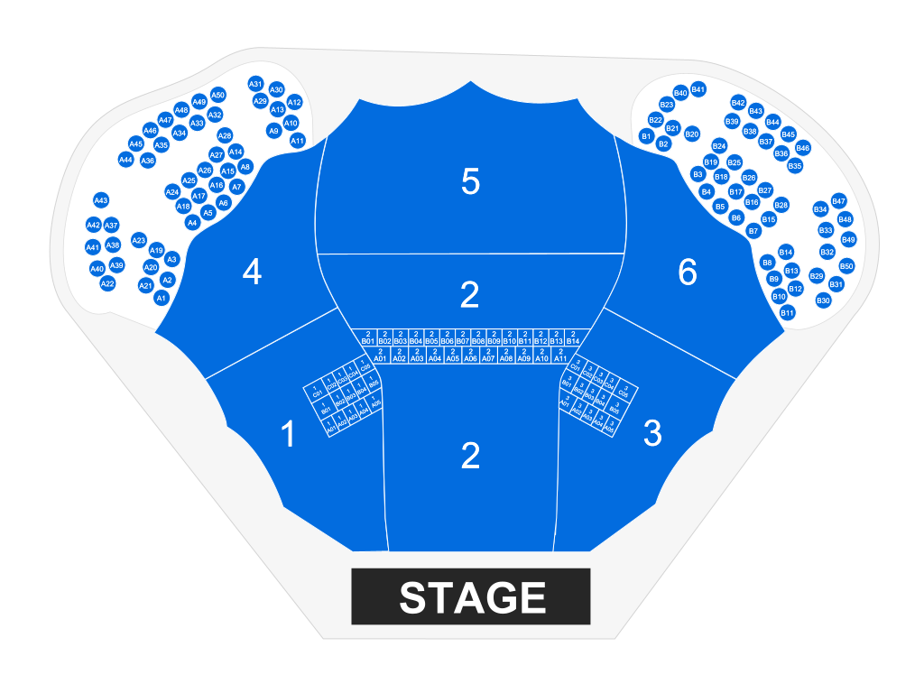 Leader Bank Pavilion - Boston   Tickets, Schedule, Seating Chart ...