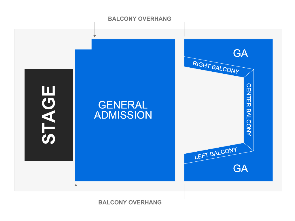 The Sylvee Seating Chart