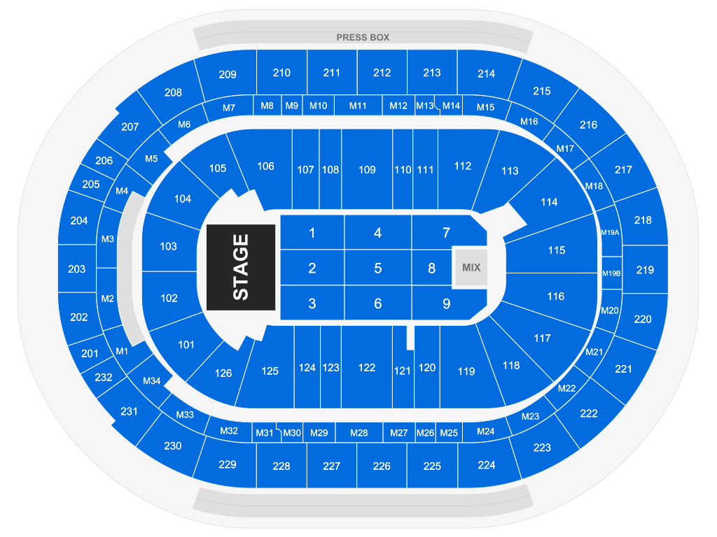 Little Caesars Arena Detroit Tickets Schedule Seating Chart Directions