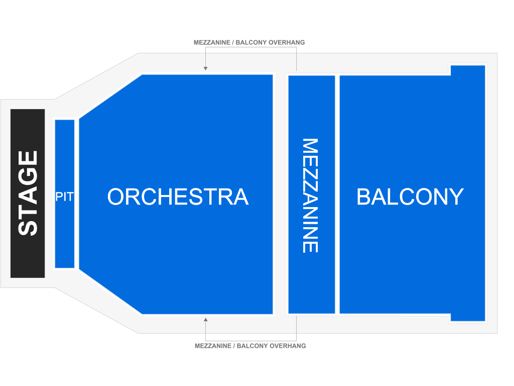 The Stylistics with Peaches & Herb, seat map