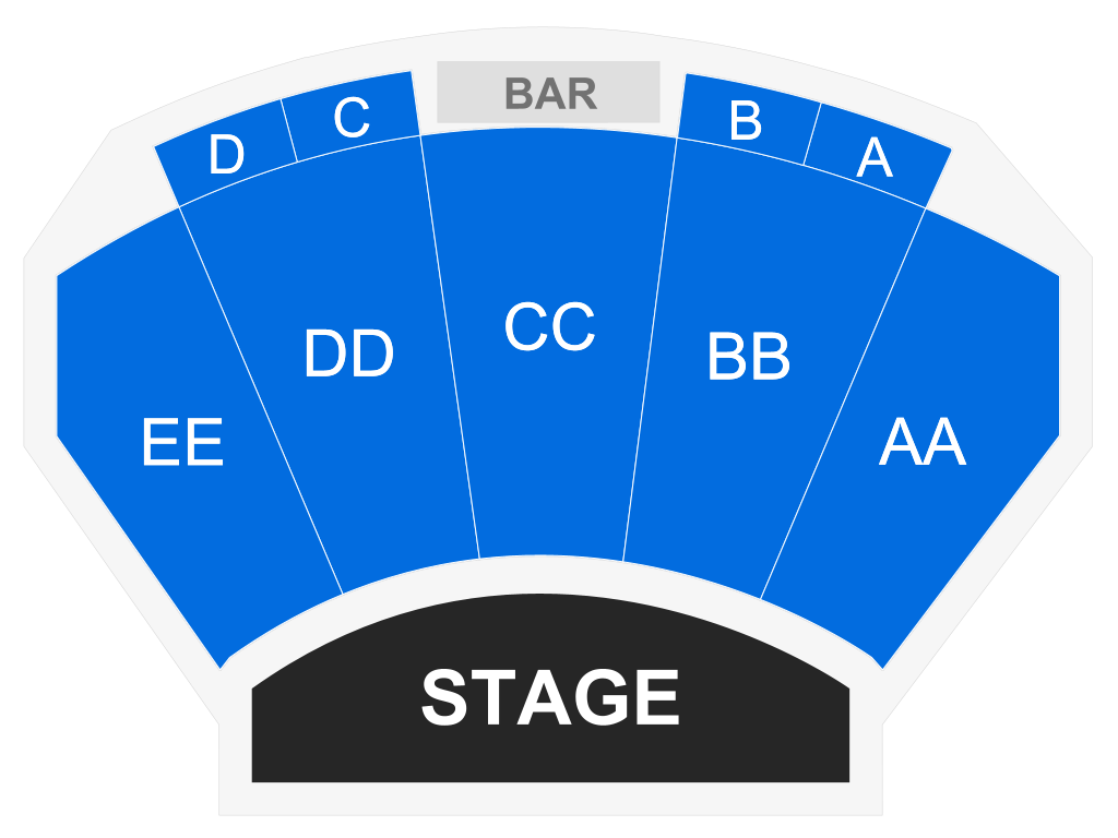 Marilyn McCoo & Billy Davis Jr., seat map