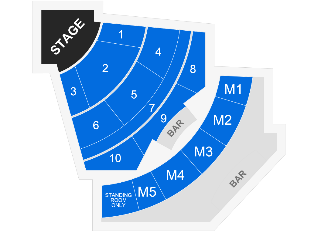 Showroom At Talking Stick Resort Scottsdale Tickets Schedule Seating Chart Directions