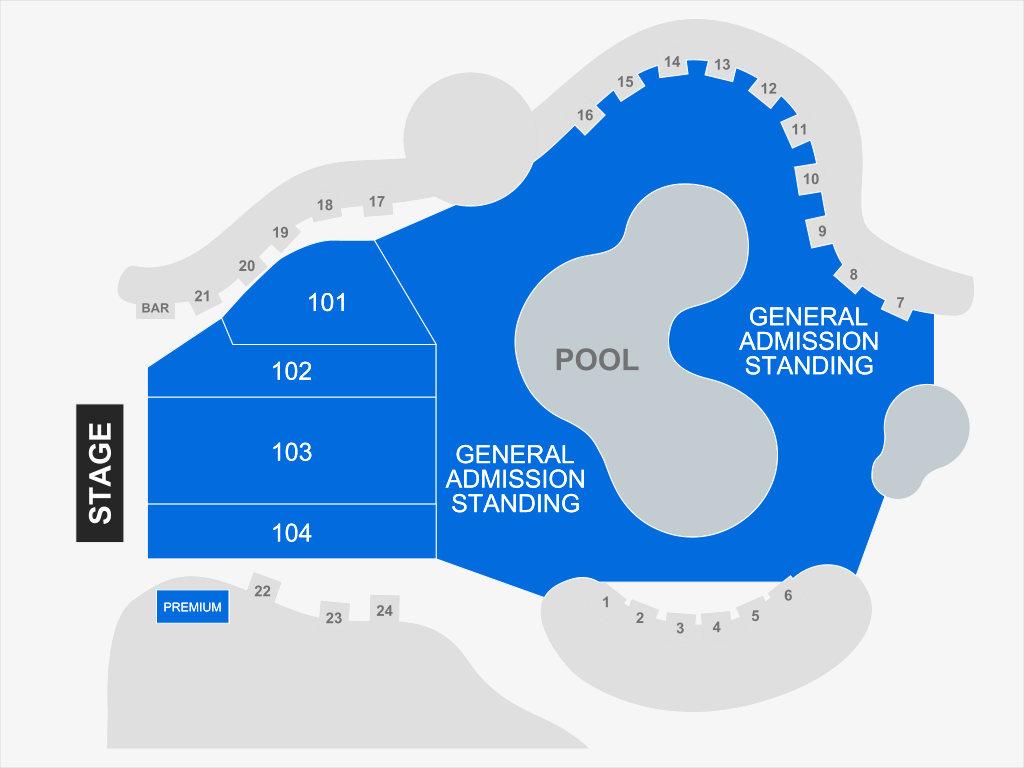 The Pool At Talking Stick Resort Scottsdale Tickets Schedule Seating Chart Directions